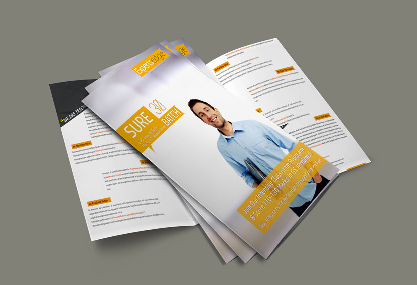 Commercial Trifold Brochure Design